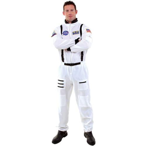 White Astonaut Adult Costume