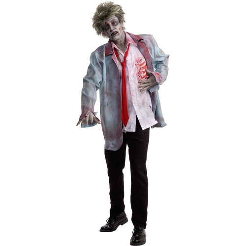 Zombie Man Adult Set
