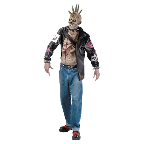 Zombie Punk Adult Costume