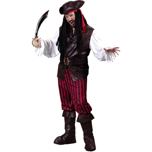 Bandit Pirate Adult Costume