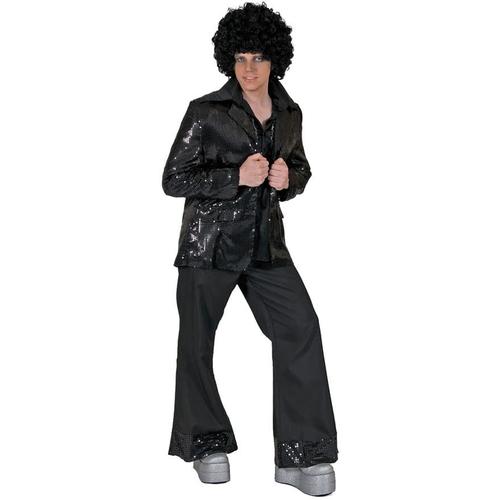 Black Disco Jacket Adult Costume