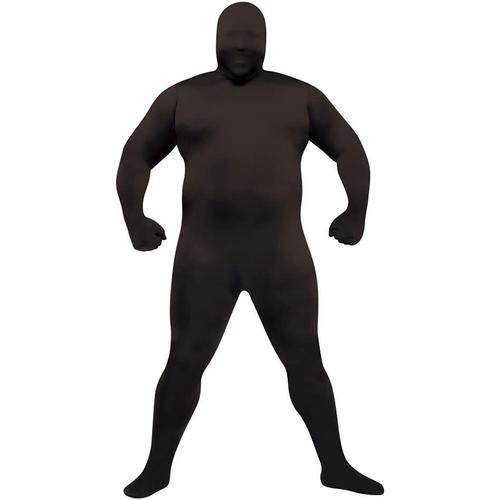 Black Skin Adult Plus Size Costume