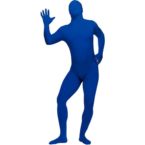 Blue Skin Suit Adult