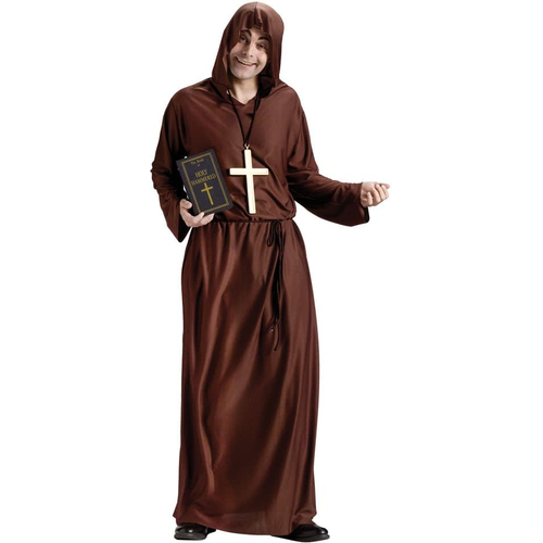 Brown Monk Adult Costume