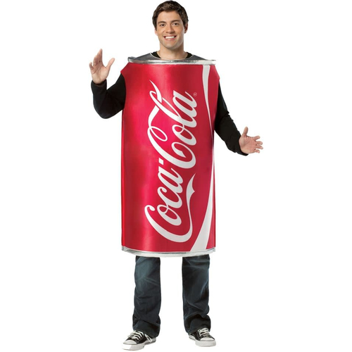 Coca Cola Can Adult Costume