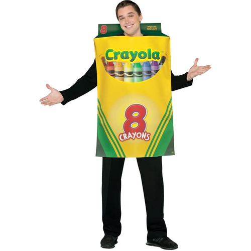 Crayola Box Adult Costume