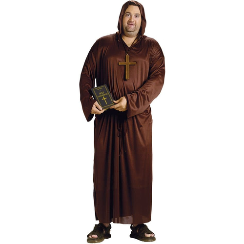 Drunk Monk Adult Plus Size Costume
