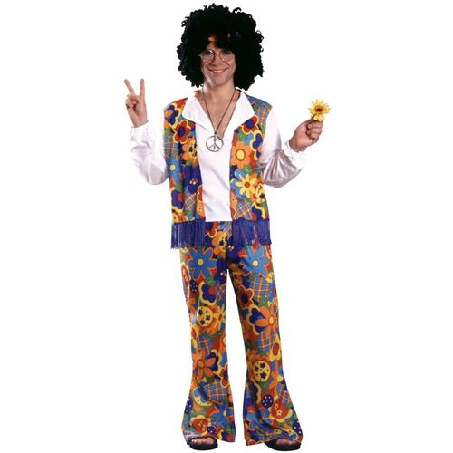 Happy Hippie Adult Costume