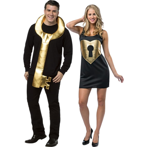 Key To Her Heart Couple Costume
