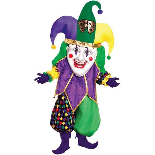 Mardi Gras Joker Adult Costume