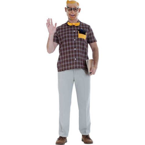 Old Nerd Adult Costume