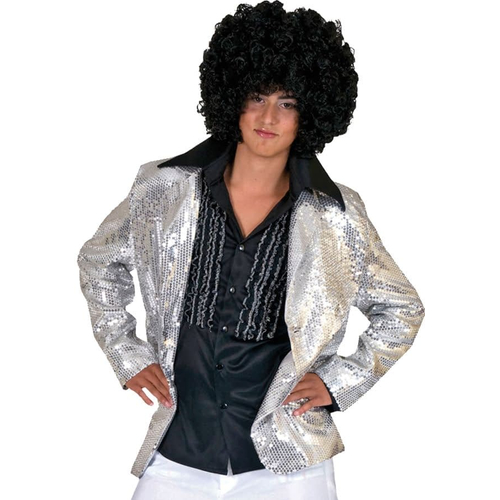 Silver Disco Jacket Adult