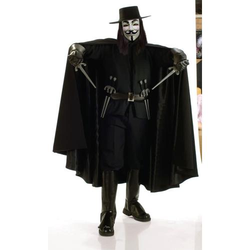 Adult V For Vendetta Costume