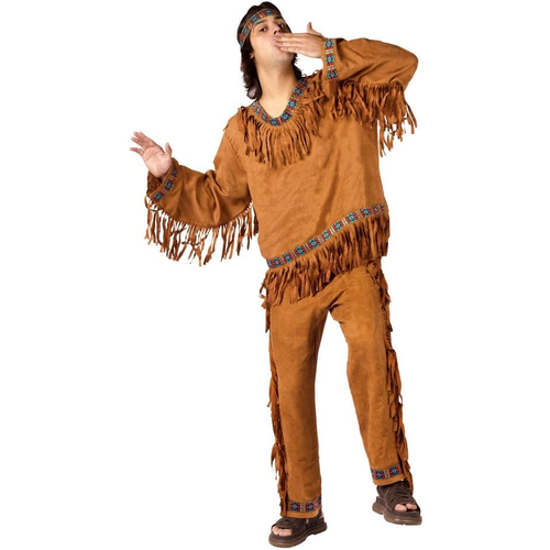 American Native Male Adult Costume