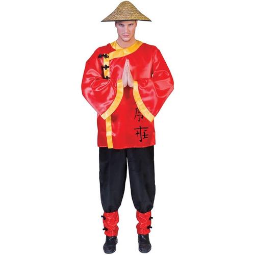 Asian Man Adult Costume