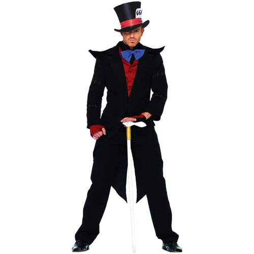 Black Mad Hatter Adult Costume