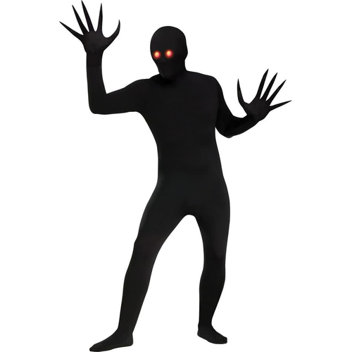 Black Skin Eyes Adult Costume