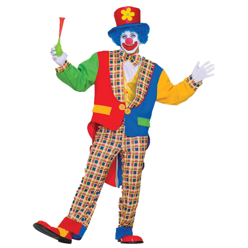 Classic Clown Adult Costume