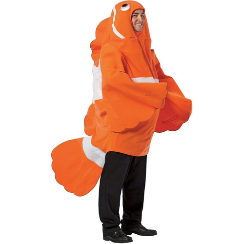 Clownfish Adult Costume