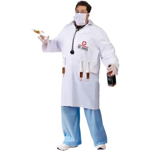 Dr.Shots Adult Costume