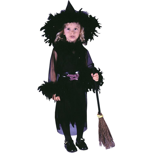 Feather Witch Toddler Costume