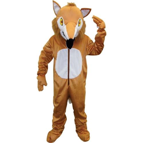 Fox Mascot Adult Costume