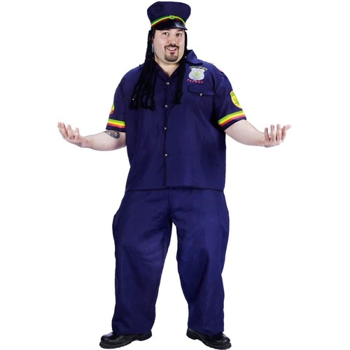 Funny Patrolman Adult Costume
