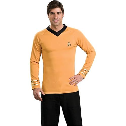 Gold Shirt Star Trek Adult
