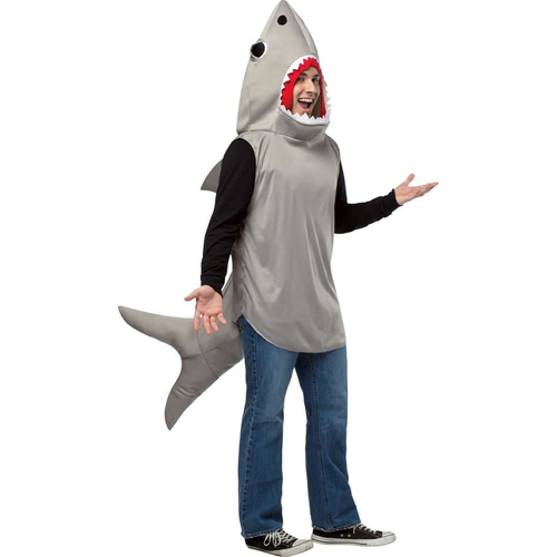 Grey Shark Adult Costume