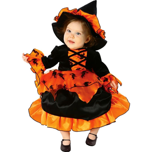 Halloween Witch Toddlers Costume