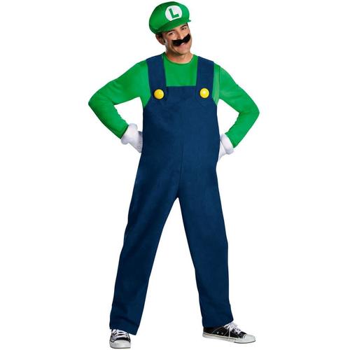 Luigi Adult Plus Costume