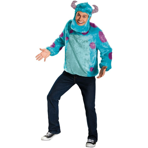 Monsters University Sulley Adult Costume