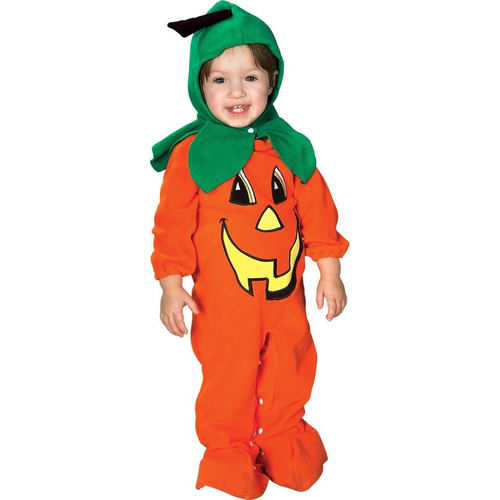 Orange Pumpkin Infant Costume
