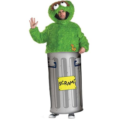 Oscar The Grouch Adult Costume
