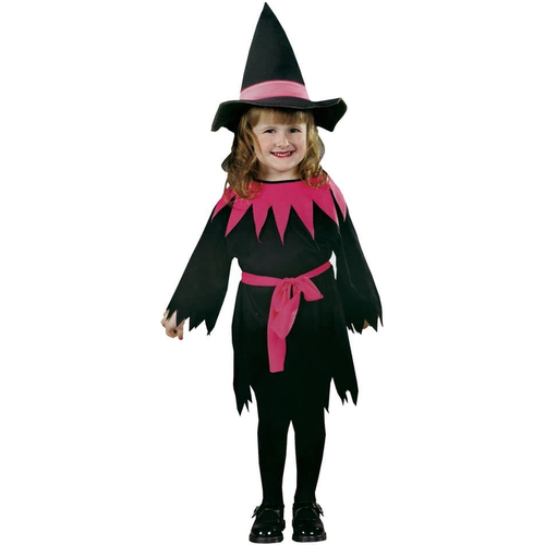 Pink Witch Toddler Costume