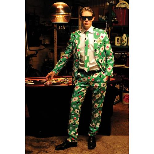 Poker Man Suit Adult