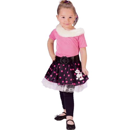 Poodle Girl Toddler Costume