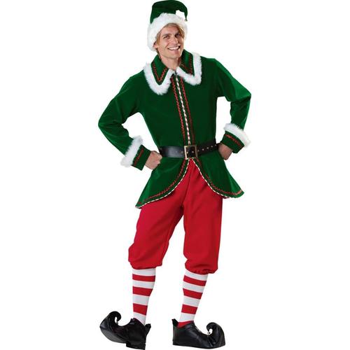 Santa' S Elf Adult Costume