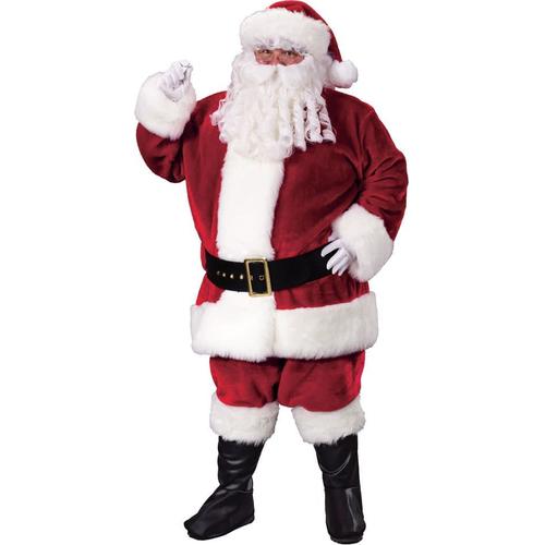 Santa Suit Plus Size