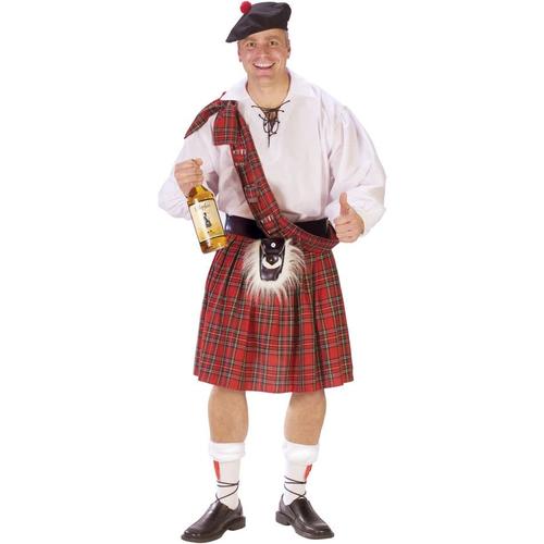 Scotland Guy Adult Costume