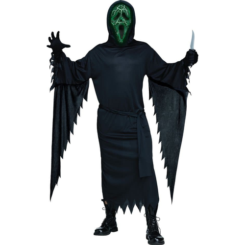 Smoldering Ghost Adult Costume