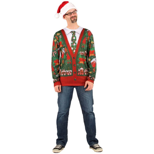Ugly Christmas Cardigan Adult