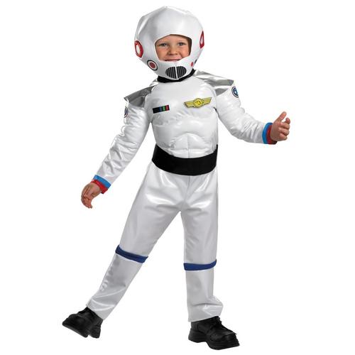 White Astonaut Toddler Costume