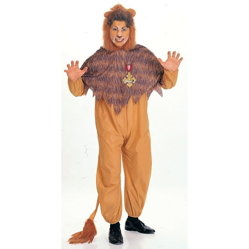 Wizard Of Oz Cowardly Lion Adult Costume