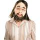 Caveman Latex Mask For Adults