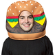 Cheeseburger Mask