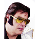 Glasses Rocker W Sideburns