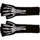 Gloves Long Fingerless W Skel