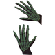 Gloves Skeleton Ovrsze Grn