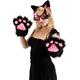 Kitty Paws Black